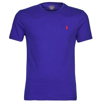 Oblečenie Muži Tričká s krátkym rukávom Polo Ralph Lauren SOPELA Modrá