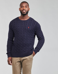 Oblečenie Muži Svetre Polo Ralph Lauren KINNU Modrá