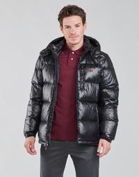 Oblečenie Muži Vyteplené bundy Polo Ralph Lauren HULINU Čierna