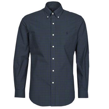 Oblečenie Muži Košele s dlhým rukávom Polo Ralph Lauren RENIMA Zelená / Modrá