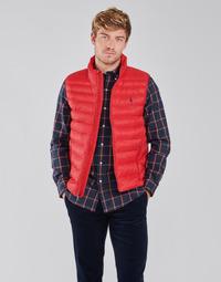 Oblečenie Muži Vyteplené bundy Polo Ralph Lauren PEROLINA Červená