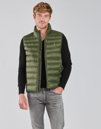 Oblečenie Muži Vyteplené bundy Polo Ralph Lauren PEROLINA Kaki