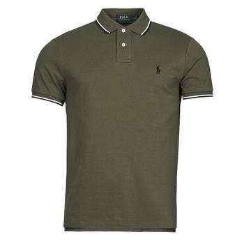 Oblečenie Muži Polokošele s krátkym rukávom Polo Ralph Lauren HOULIA Kaki