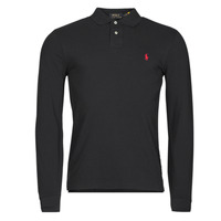 Oblečenie Muži Polokošele s dlhým rukávom Polo Ralph Lauren TREKINA Čierna