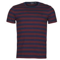Oblečenie Muži Tričká s krátkym rukávom Polo Ralph Lauren POLINE Námornícka modrá / Bordová