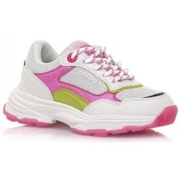 Topánky Dievčatá Nízke tenisky MTNG DEPORTIVAS NIÑA MUSTANG BEIGE 48201 Biela