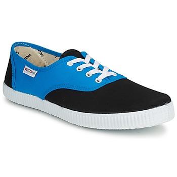 Topánky Nízke tenisky Victoria INGLESA BICOLOR Modrá / Čierna