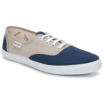 Topánky Nízke tenisky Victoria INGLESA BICOLOR Béžová / Petrolejová modrá