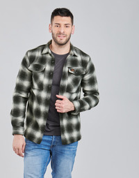 Oblečenie Muži Bundy  Superdry Wool Miller Overshirt Čierna