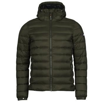 Oblečenie Muži Vyteplené bundy Superdry CLASSIC FUJI PUFFER JACKET Čierna