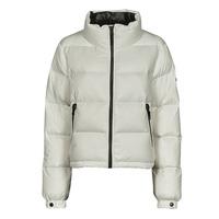 Oblečenie Ženy Vyteplené bundy Superdry ALPINE LUXE DOWN JACKET Biela
