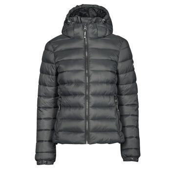 Oblečenie Ženy Vyteplené bundy Superdry CLASSIC FUJI PUFFER JACKET Šedá