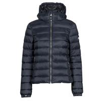 Oblečenie Ženy Vyteplené bundy Superdry CLASSIC FUJI PUFFER JACKET Modrá