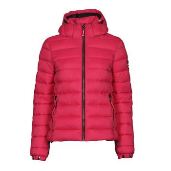Oblečenie Ženy Vyteplené bundy Superdry CLASSIC FUJI PUFFER JACKET Ružová