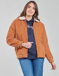 Oblečenie Ženy Bundy  Roxy READY TO GO COR Hnedá