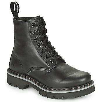 Topánky Polokozačky Art MARINA Čierna