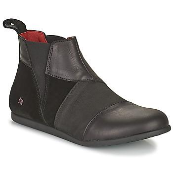 Topánky Ženy Polokozačky Art LARISSA Čierna