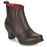 Topánky Ženy Čižmičky Art HARLEM Čierna