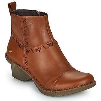 Topánky Ženy Čižmičky Art OTEIZA Hnedá