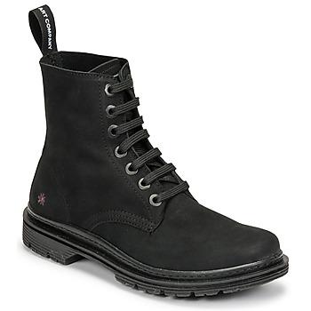 Topánky Polokozačky Art BIRMINGHAM Čierna