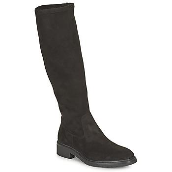 Topánky Ženy Čižmy do mesta Unisa EDANA Čierna