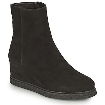 Topánky Ženy Čižmičky Unisa JUSTEL Čierna