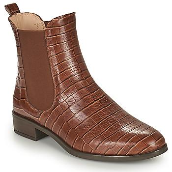 Topánky Ženy Polokozačky Unisa BOYER Ťavia hnedá