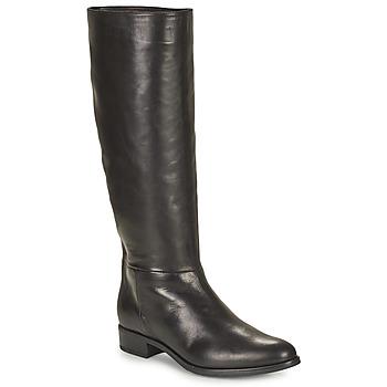 Topánky Ženy Čižmy do mesta Unisa BLEND Čierna