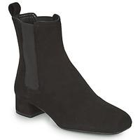 Topánky Ženy Čižmičky Unisa GUSO Čierna