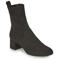 Topánky Ženy Čižmičky Unisa LAJUAR Čierna