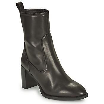 Topánky Ženy Čižmičky Unisa UNTIL Čierna