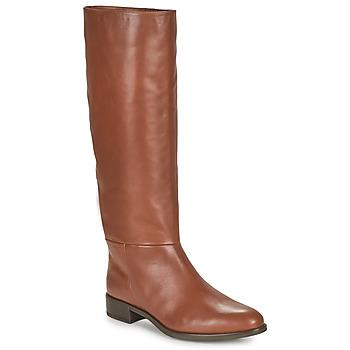 Topánky Ženy Čižmy do mesta Unisa BLEND Ťavia hnedá