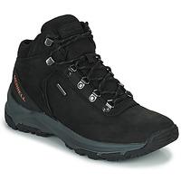 Topánky Muži Turistická obuv Merrell ERIE MID LTR WP Čierna