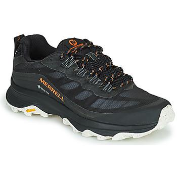 Topánky Muži Turistická obuv Merrell MOAB SPEED GTX Čierna