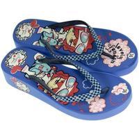 Topánky Ženy Žabky Super Gear Dámske modré šľapky LONDON modrá