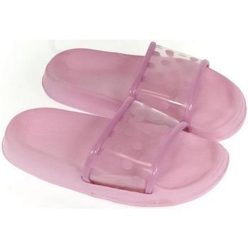 Topánky Deti Šľapky John-C Detské ružové šľapky BELL ružová