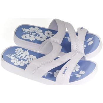Topánky Ženy Šľapky John-C Dámske biele šľapky ELENI biela