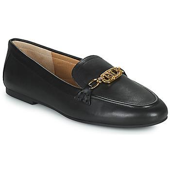 Topánky Ženy Mokasíny Lauren Ralph Lauren AVERI Čierna