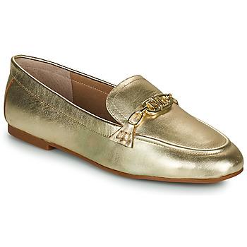 Topánky Ženy Mokasíny Lauren Ralph Lauren AVERI Zlatá