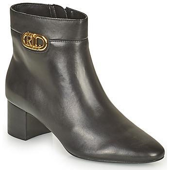 Topánky Ženy Čižmičky Lauren Ralph Lauren WYNNIE Čierna