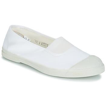 Topánky Ženy Nízke tenisky Bensimon TENNIS ELASTIQUE Biela