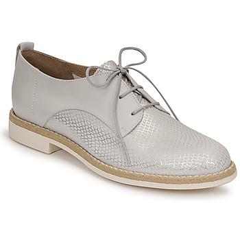 Topánky Ženy Derbie San Marina MASSILIA Strieborná