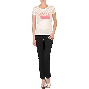 Oblečenie Ženy Džínsy Slim Levi's CL DC SLIM 5 PKT čierna