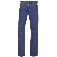 Oblečenie Muži Rovné džínsy Levi's 501 LEVIS ORIGINAL FIT šedá kamenná