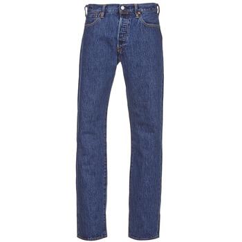 Oblečenie Muži Rovné džínsy Levi's 501 LEVIS ORIGINAL FIT Šedá kamenná / 80684