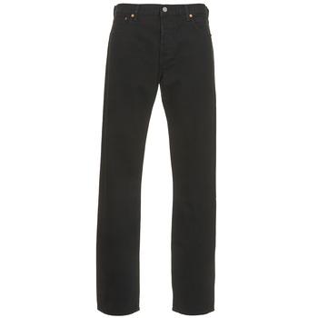 Oblečenie Muži Rovné džínsy Levi's 501 LEVIS ORIGINAL FIT Čierna / 80701