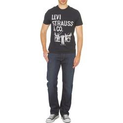 Oblečenie Muži Rovné džínsy Levi's 504 čierna / Drift