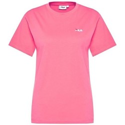 Oblečenie Ženy Tričká s krátkym rukávom Fila Eara Tee W Ružová