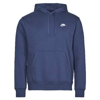 Oblečenie Muži Mikiny Nike NIKE SPORTSWEAR CLUB FLEECE Námornícka modrá / Biela