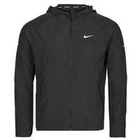 Oblečenie Muži Vetrovky a bundy Windstopper Nike M NK RPL MILER JKT Čierna / Strieborná